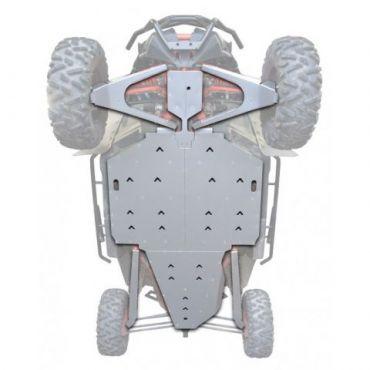 KIT PROTECTION INTEGRALE PHD Aluminium - CAN AM MAVERICK X3 XRS