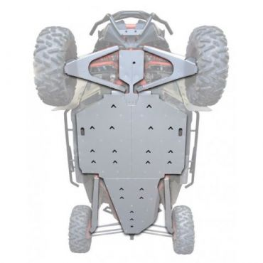 KIT PROTECTION INTEGRALE Aluminium - CAN AM MAVERICK X3 XRS