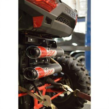 Système d'échappement double à emboiter BIG GUN Polaris RZR XP 1000 TURBO/ RZR XP 4 TURBO EVO UTILITY