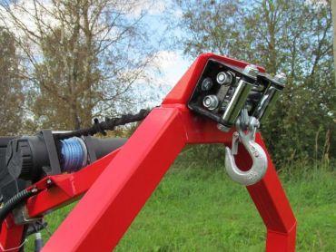 Treuil électrique pour remorque de débardage pour ATV