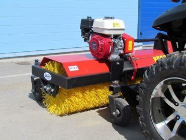 Balai rotatif pour ATV, moteur 4,8 HP Honda