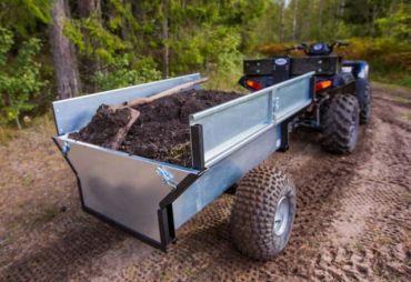 Remorque basculante pour ATV/Quad/Tracteur