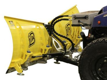 Kit chasse-neige V-Pro universel pour quad – Lame 180cm - version tournante hydraulique