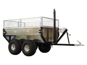 Remorque basculante pour ATV/Quad/Tracteur (capacité: 1000kg)
