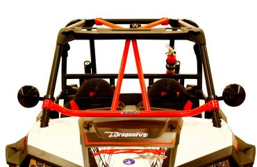 "DRAGONFIRE Race ""Flying V"" Front Bar - Polaris RZR"