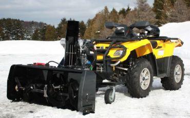 """Souffleur à neige pour VTT / Quad 48"""" (122CM) 14hp Kohler engine"""