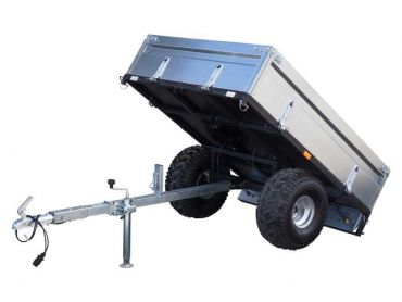 Remorque basculante pour ATV/Quad/Tracteur homologuée