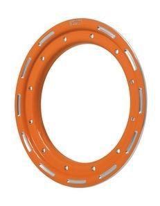 """Anneau orange revêtement poudre 9"""""""