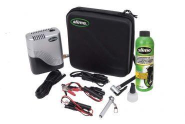 Kit de réparation Moto SLIME avec compresseur et mastic