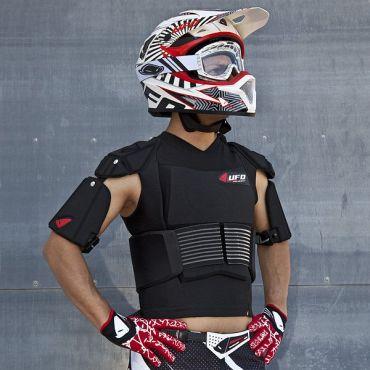 Cyborg Veste avec ceinture aux hanches UFO