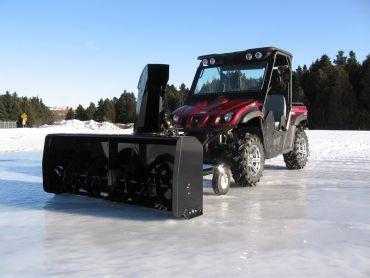 "Souffleur à neige pour VTT / Quad 66"" (167 CM) 22HP HONDA ENGINE"