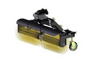 Balai à angle pour nettoyage extérieur ATV - UTV