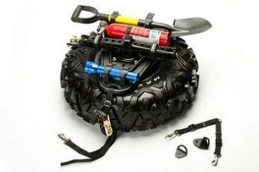 Kit QUICKSHOT Roue de secours et accessoires pour montage horizontal