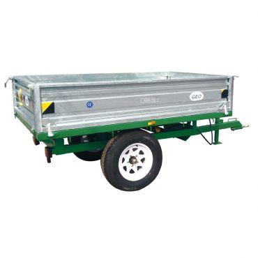 Benne à bascule hydraulique – capacité 1500kg