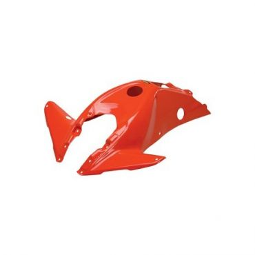 Coque de réservoir orange SUZ LT-R450