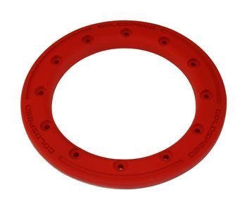 GS:BEAD-LOCK Anneau 9-pouces rouge carbone polymère + boulons